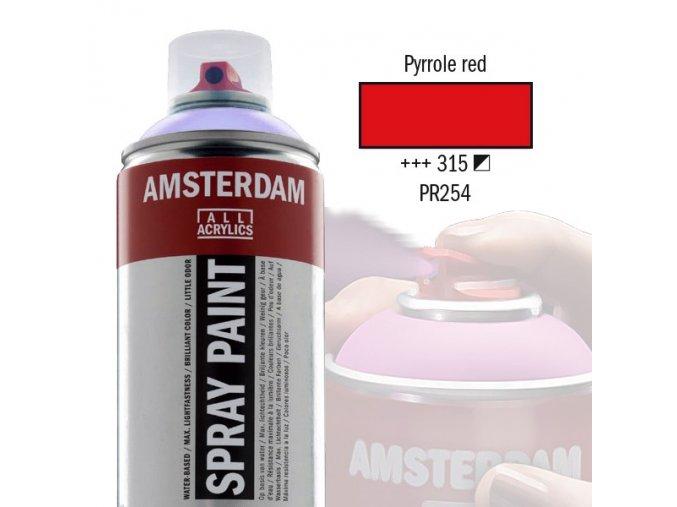 Amstr spray 315 Pyrrole red