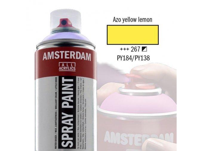 Amstr spray 267 Azo yellow lemon