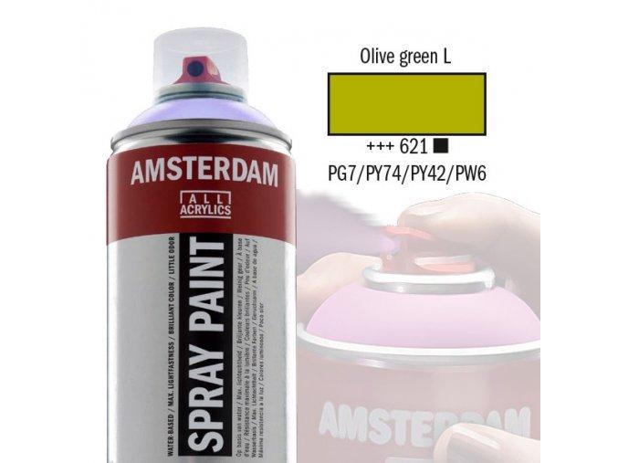 Amstr spray 621 Olive green light