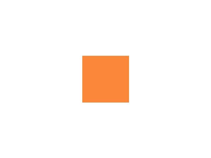 Papír 160 g/m² - A4 - mandarinkový (10listů)