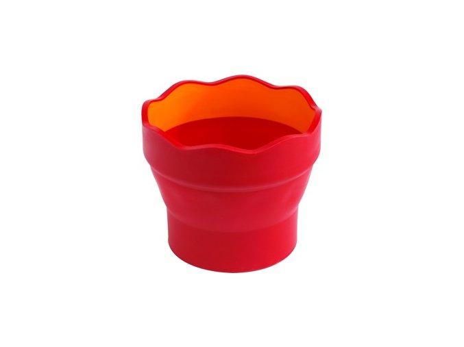 červený kelímek I