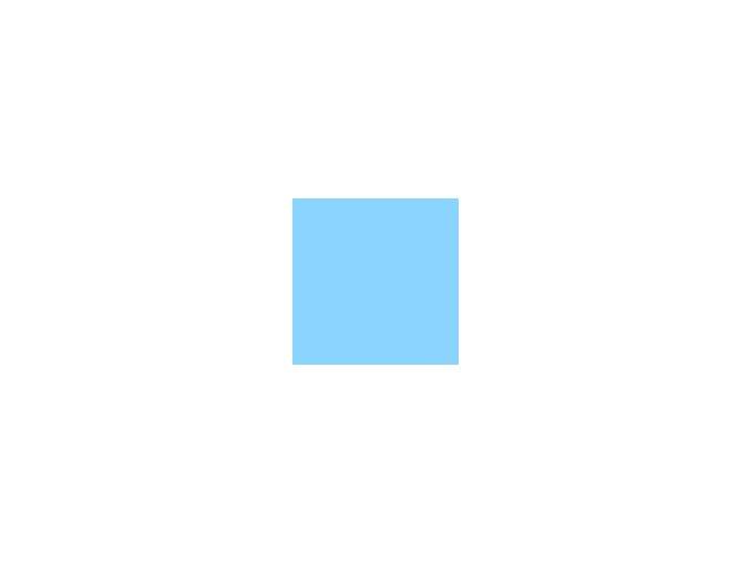 Papír 160 g/m² - A4 modrý (10listů)