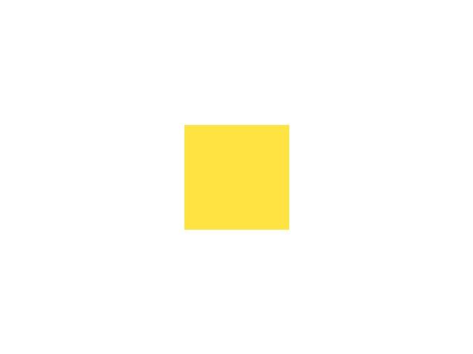 Papír 160 g/m² - A3 -  žlutý (10listů)
