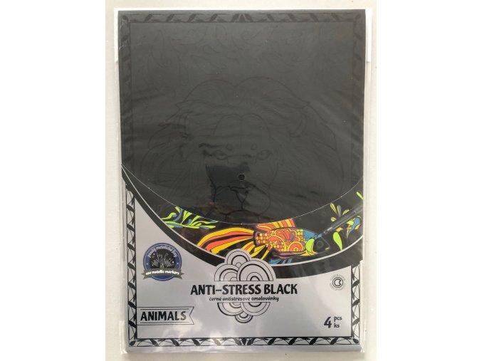 Anti stress omalovánky - Animals - Centropen