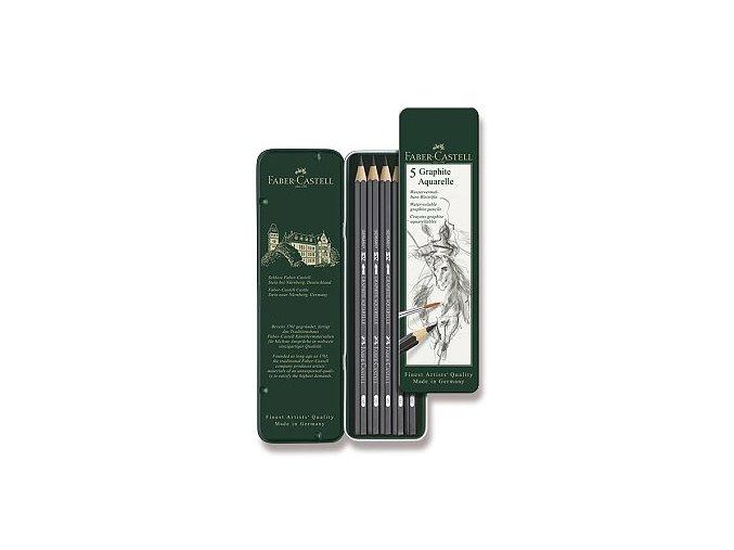 Akvarelové tužky 5 ks Faber Castell