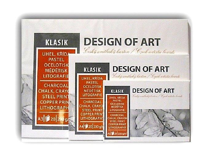 Blok KLASIK 230g/m² - A5