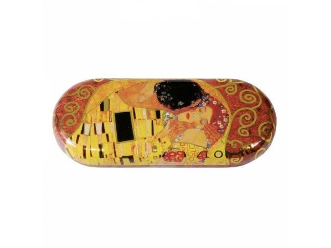 Motiv obrazu Polibek od rakouského malíře Gustava Klimta