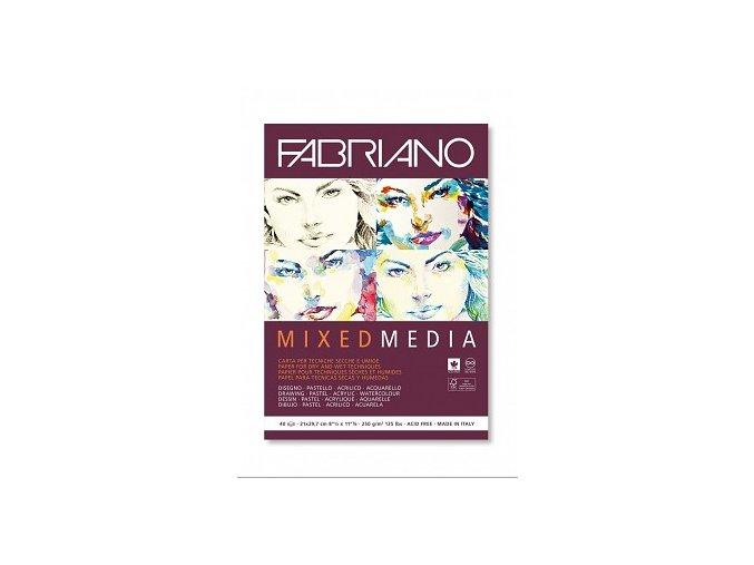 fabriano mix media