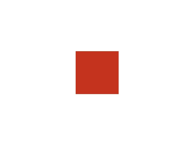Papír 160 g/m² - A3 - červený (10listů)