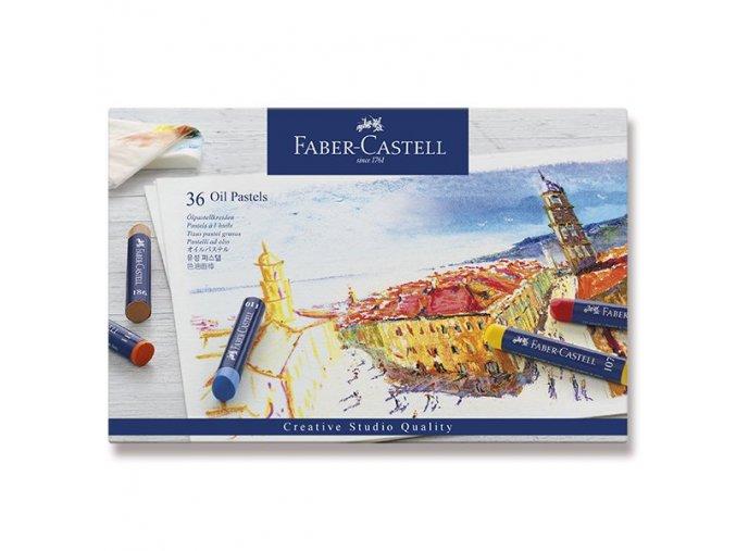 Olejové pastely Faber-Castell - 36 barev