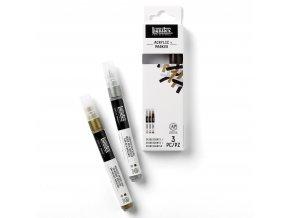 Sada akrylových markerů  Iridescents 3ks zn. Liquitex