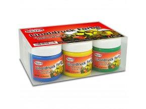 Barvy na linoryt v sadě 6 x 40 ml zn. Meyco