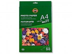 Papír foto matný 120 g Koh i noor