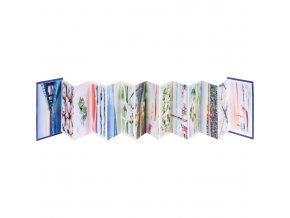 Akvarel- Leporello zn. Ami, A6, 280 g / m², 22 listů