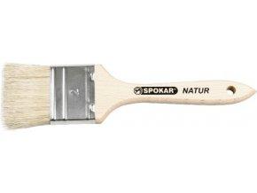 Štětec plochý Spokar č. 2,5 - dřevěná rukojeť