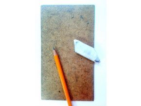 Sololit deska malá - 10x18cm