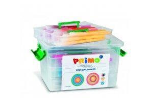 Fixy Primo 120 ks v boxu, 10 barev