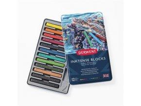 Sada 12 akvarelových bloků Derwent