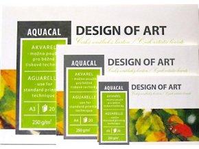 Blok AQUACAL 250g/m² - A5