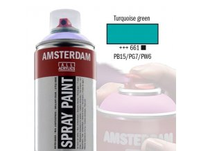 Amstr spray 661 Turquoise green