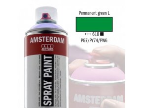 Amstr spray 618 Permanent Green light