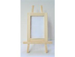 Fotorámeček se stojánkem - smrkové dřevo
