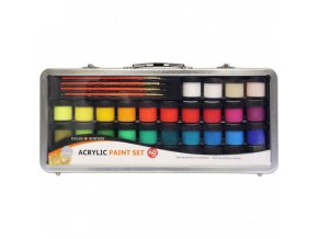 acrylic paint set kufrik