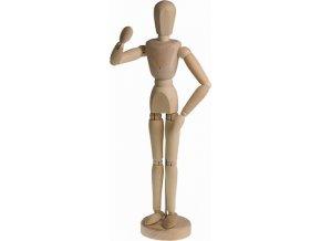Dřevěný manekýn - muž