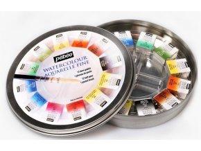 paleta akvarelové barvy