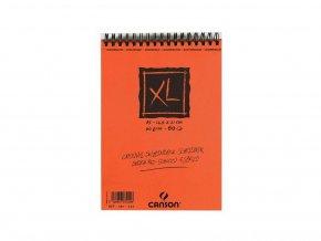 Blok XL - CROQUIS skicák - Canson 90g/m² - A5 (kroužková vazba nahoře)
