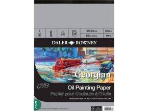 papír  olejomalba