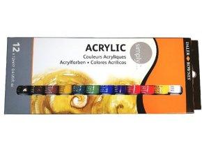 akryl barvy serafin