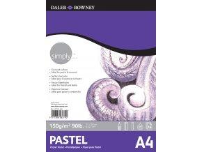 pastel A4
