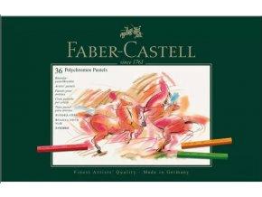 Sada 36 ks pastelů Polychromos Faber Castell