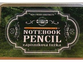 Grafitové tužky v plechové krabičce