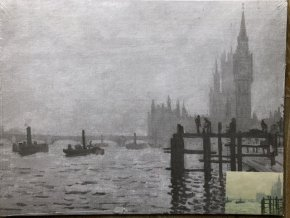 Plátno s motivem - Monet I.
