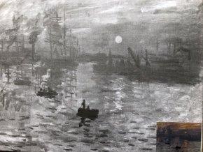 Plátno s motivem - Monet II.