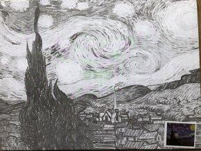 Plátno s motivem - Van Gogh