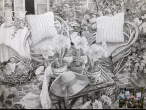 Plátno s motivem - zahrada II.