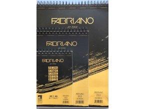 Skicovací papír v bloku Fabriano -90 g/m2