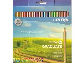 Pastelky Lyra - papírová krabička