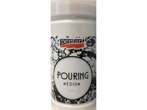 pouring kapalné médium