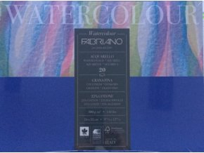 Blok pro akvarel  Fabriano 25% bavlny  300g