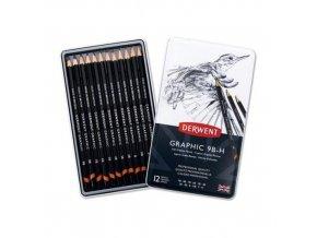derwent tužky grafitové
