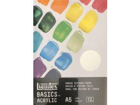 Blok Liquitex acrylic basics  300 g/m2 A5 A4