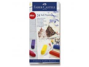 Pastelové křídy Faber-Castell Mini - 24 barev