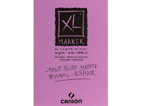 XL Marker skicák Canson A4 70 g/m²