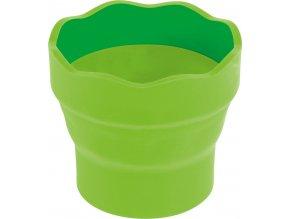 Skládací kelímek Faber-Castell Clic&Go - světle zelený