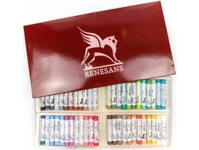 Sada suchých pastelů Renesans 48ks
