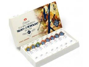 nabor maslyanykh krasok master klass zemli armenii 8tsv 18ml